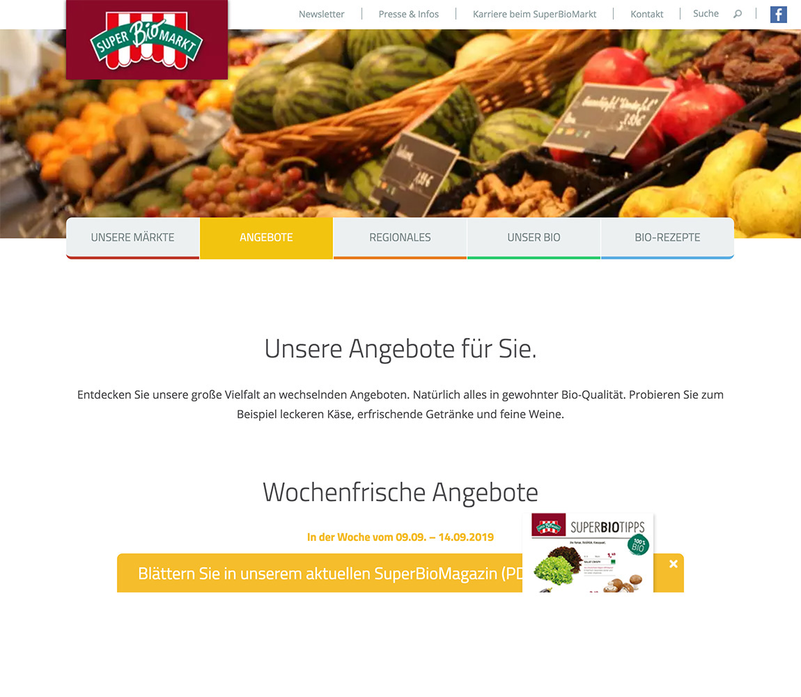 WooCommerce German Supermarket Chain